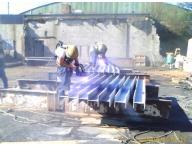 Metalizing I-beams