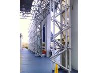 Metalized scaffolding