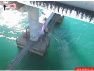 Bridge concrete metalizing for anodic protection